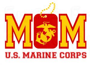 Marine Corps Mom SVG