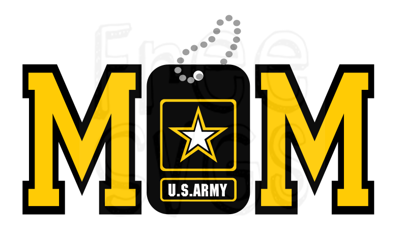 Free Army Mom Svg File Free Svgs