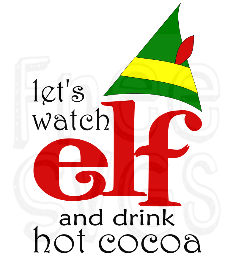 Let S Watch Elf Free Svg File Free Svgs